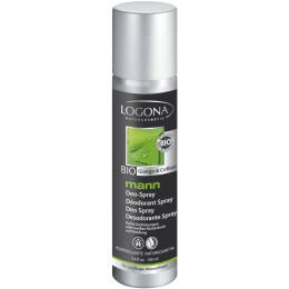 Déodorant spray BIO pour homme - Ginkgo et caféine - 100 ml