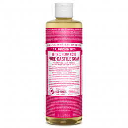 Savon de Castille multi-usage 18 en 1 Rose 475 ml