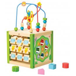 Mon premier cube d'activité multi-jeux - à partir de 18 mois
