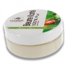 Beurre de karité 100 % pur - Visage, corps et cheveux - 150 ml