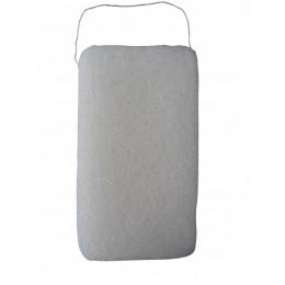 Grande éponge Konjac XL pour le corps Blanche