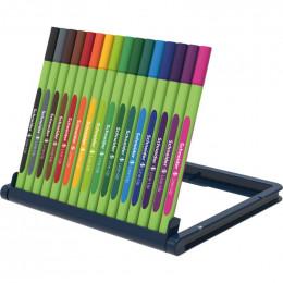 Marqueurs fins 0,4 mm Line Up Bio 16 couleurs - à partir de 3 ans