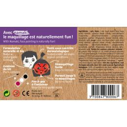 Kit de maquillage Bio 3 couleurs Diable et Vampire