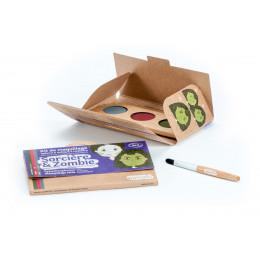 Kit de maquillage Bio 3 couleurs Sorcière et Zombie **
