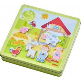 Boîte de jeu magnétique 'La ferme de Pierre et Pauline' - à partir de 3 ans