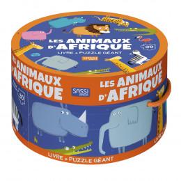 Puzzle géant Les animaux d'Afrique 30 pièces - à partir de 3 ans