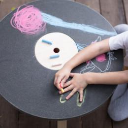 Table de jeu ronde - à parir de 3 ans