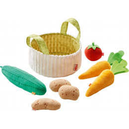 Panier de légumes en tissu - à partir de 3 ans