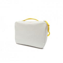 Lunch bag Go REPet - Blanc et jaune