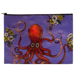 Grande trousse en matériaux recyclés - Octopus