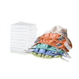 Kit de couches lavables pour nouveaux nés Pop In - Bambou