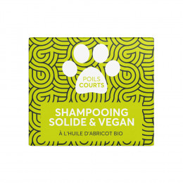Shampooing solide pour animaux - Poils courts - 60 ml