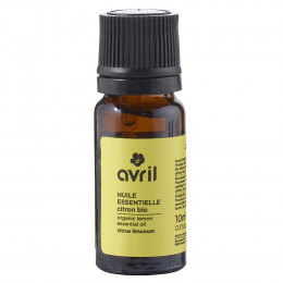 Huile essentielle de citron BIO - 10 ml