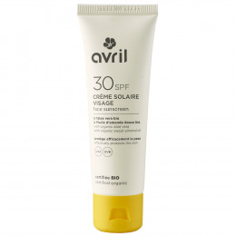 Crème solaire visage BIO -  SPF30 - 50 ml