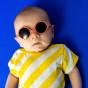 Lunettes de soleil bébé Diabola 2.0 - 0 à 1 an - Pamplemousse