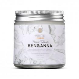 Dentifrice blancheur White + Fluor - Menthe et Sauge - 100 ml