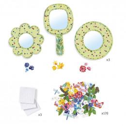 DIY mosaïques & stickers - Douceur florale