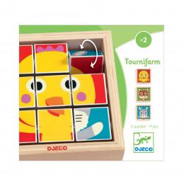 Puzzle en bois - Tournifarm