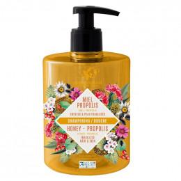 Shampooing et Douche Miel Propolis - 500 ml
