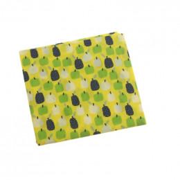Emballage alimentaire réutilisable à la cire d'abeille - 50x60 cm - Jardin d'hiver