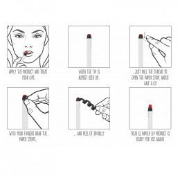 Rouge à lèvres hydratant mat - Le papier - 6 g - Classy