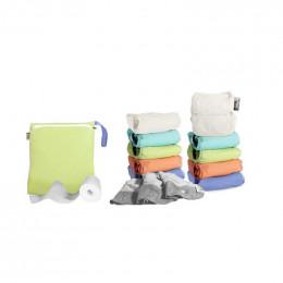Kit de couches lavables Pop In V2 - Bambou Pastel