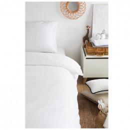 Housse de couette enfant 100 x 140 cm - Coton Bio - Blanc