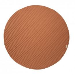 Tapis de jeu rond Kiowa - Sienna brown - small