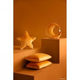 Coussin Aristote velvet - Farniente yellow
