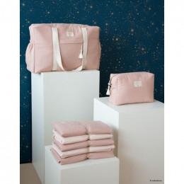 Trousse de toilette imperméable Diva - Misty pink
