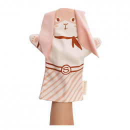 Marionnette Lapin - Bloom pink