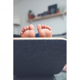 Planche d'équilibre Wobbel Pro - feutre récyclé souris