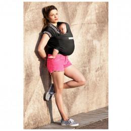 Echarpe porte-bébé basic - presque noir