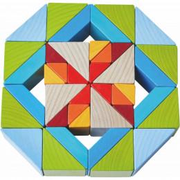 Jeu d'assemblage 3D Mosaïque de cubes