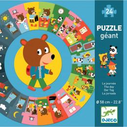 Puzzle géant - La journée - à partir de 3 ans