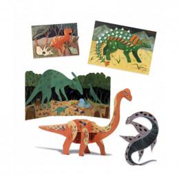 Coffret multi-activités - Le monde des dinosaures