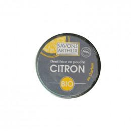 Dentifrice en poudre Bio au charbon - Citron - 30 g