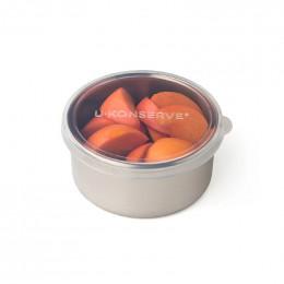 Boîte ronde en inox -  266 ml