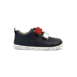 Chaussures I Walk - 637304 Grass Court Switch Navy (Red + Silver)