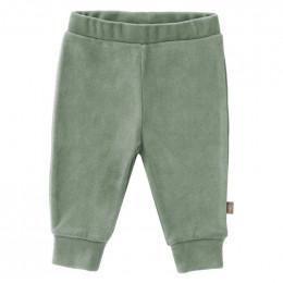 Pantalon bébé en velours Forest green