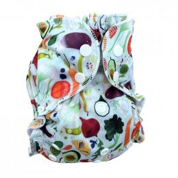 Culotte de protection à pressions - Taille unique - Fruits et légumes