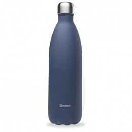 Gourde bouteille nomade isotherme - 1 litre - Granite bleu nuit