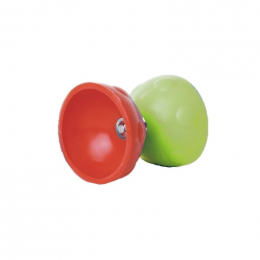 Diabolo géant rouge et vert - à partir de 5 ans