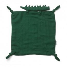 Doudou Agnete - Crocodile garden green