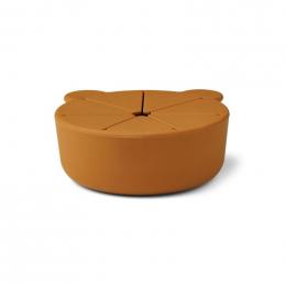 Set de 2 boîtes à collations Kelly - Mr bear sea blue & mustard mix