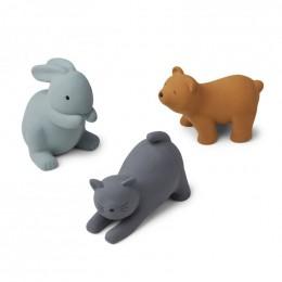 Set de 3 jouets de bain David - Blue multi mix