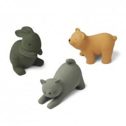 Set de 3 jouets de bain David - Green multi mix