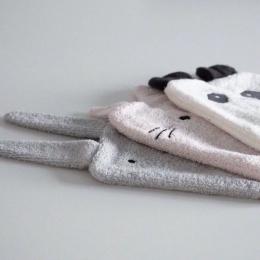 Set de 3 gants de toilette Sylvester Girlie