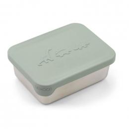 Boîte à collations Ako - Dino dusty mint