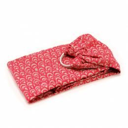 Porte bébé physiologique - Sling TU - Dune rouge
